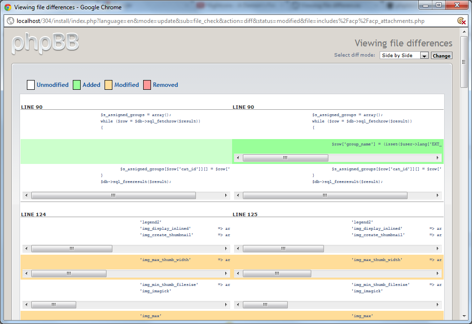 PHPBB3-10819] Improve side-by-side diff styling - phpBB Tracker